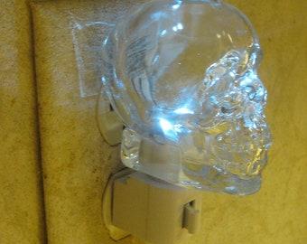 Skull Vodka Glass Night Light
