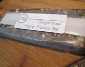 Gingersnap Raw Hemp Protein Bars (box of 12)