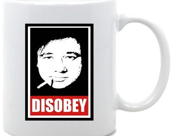 Bill Hicks Disobey Coffee Mug