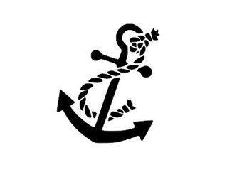 Popular items for anchor vinyl decal