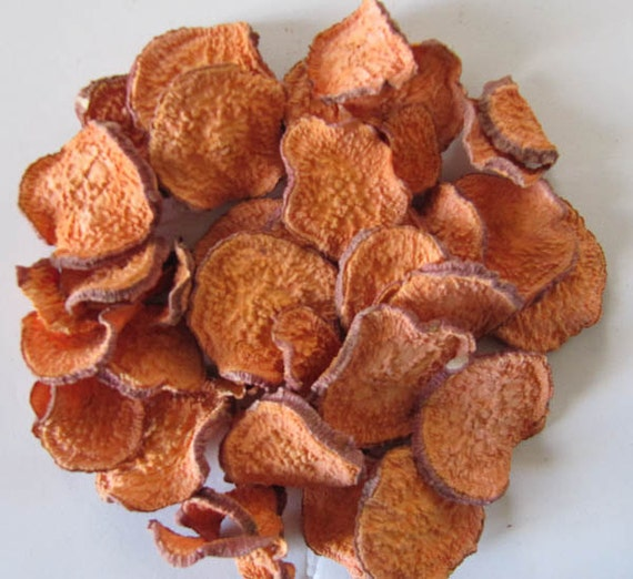 DRIED ORGANIC Sweet POTATO Chips Dogs Love Treats