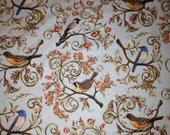 Birds Wiil be Birds in Meditation, King Coverlet