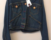 vintage levis ladies denim jacket