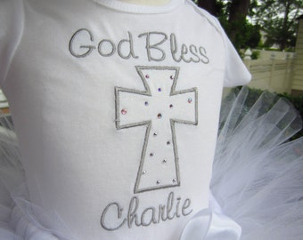 Baptism onesie Any size