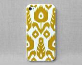 iPhone 4 Case, iPhone 4S Case, iPhone Case, iPhone Case 4/4S - Ikat Pattern - 084