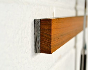 Knife Holder / Teak & Steel