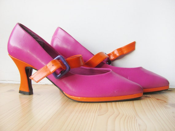 reserved for jen b l a s t pink and orange by