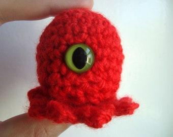 Frank  -handmade crochet, made to order, eyes may vary
