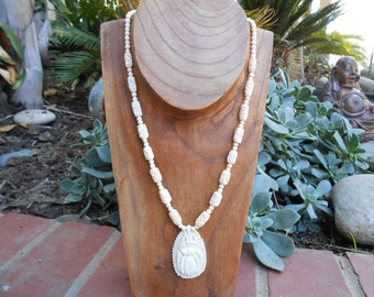 Vintage Ox Bone Necklace