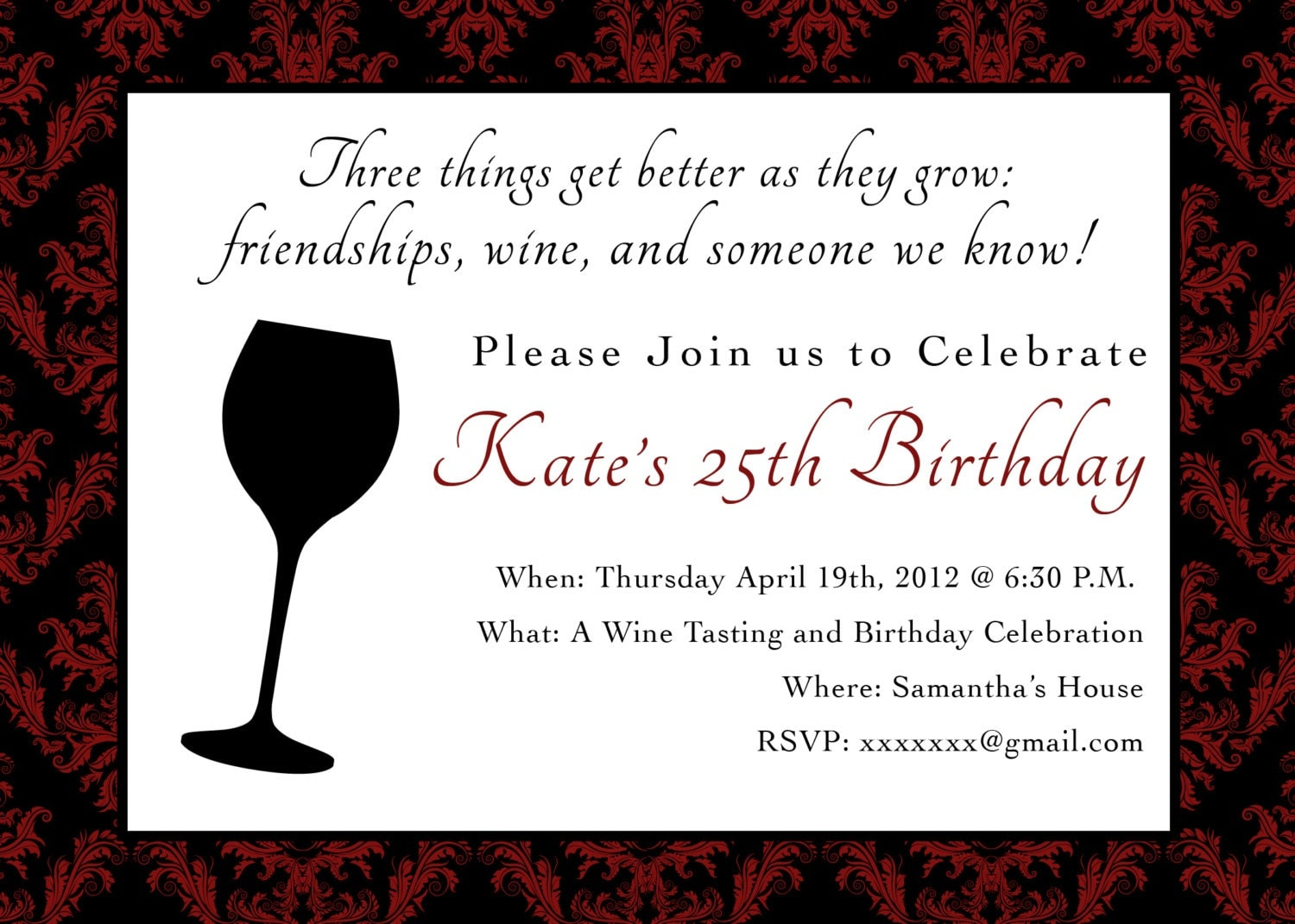 80Th Birthday Invite was best invitations layout
