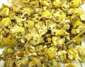 Dried Chamomile Organic, 1-6 Cups, Premium Whole Flower Fancy Grade A Egyptian Bulk, Medicinal Herb // 1 2 3 4 5 6 cups oz