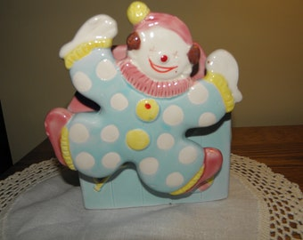 Inarco Clown Planter with Music Box