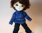 Pukifee Lati Yellow Blue Sweater