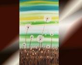 "KSAVERA ""DANDELION 2"" 40x70 FLOWERS"