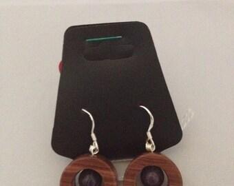 Jasper Earrings - Genuine Gemstone