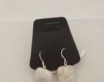 African Opal Earrings - Genuine Gemstone