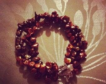 Keshi Pearl Bracelet - Genuine Pearls