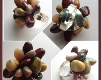 Mookite Ring - Genuine Gemstone