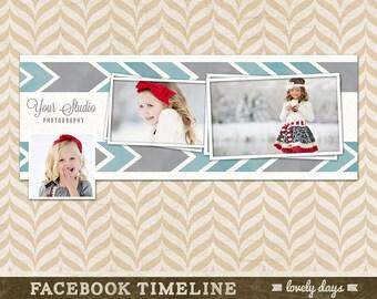 Facebook Timeline Cover design template  INSTANT DOWNLOAD