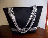 Large Black Bucket Bag