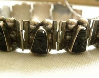 vintage sterling bracelet made in mexico