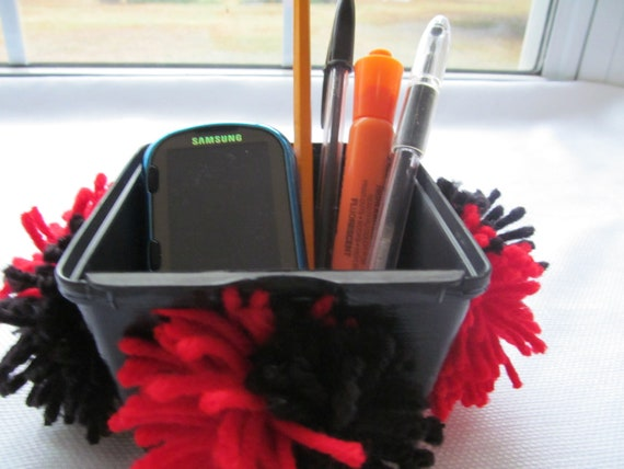Locker Accessory pen pencil cell phone holder