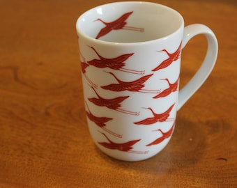 ceramic ibis mug