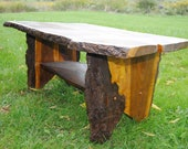 """Coffee Table Handcrafted """"Walnut"""""""