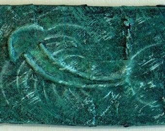 """Painting, """"Trilobite"""""""