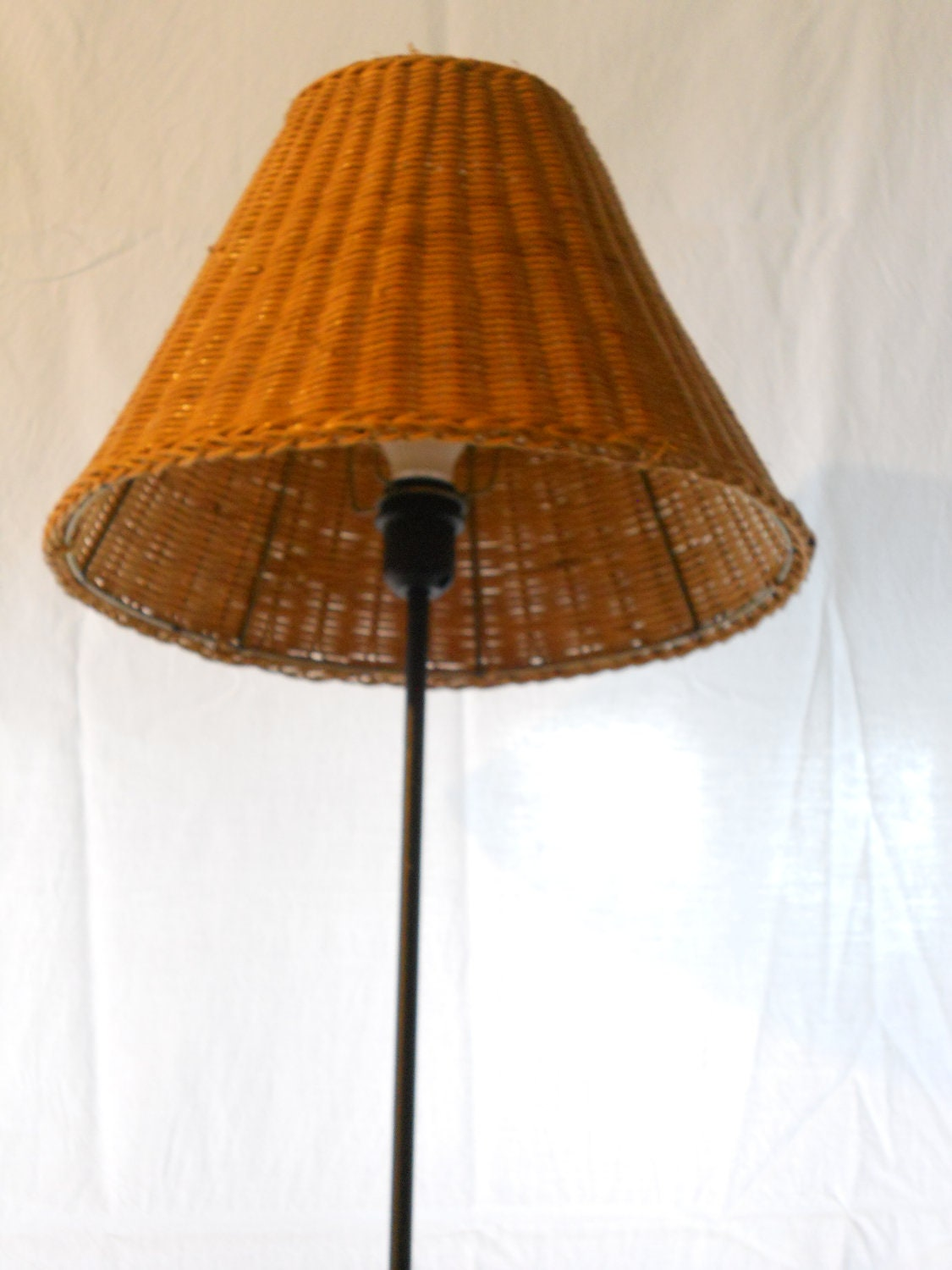 15 inch rattan lamp shade. Black Bedroom Furniture Sets. Home Design Ideas