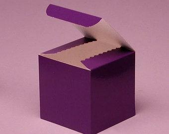 Purple Gift Box - 10 Pack