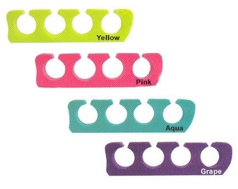 1 Pair Aqua Toe Separators - Pedicure