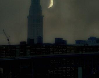 Constructing the Night City Art Photograph