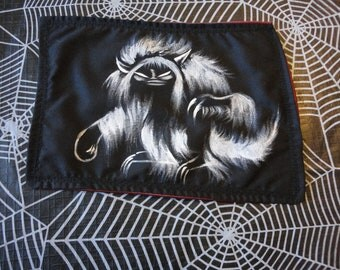 Hand Painted Monster Patch