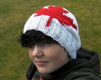 Canadian Maple Leaf Toque