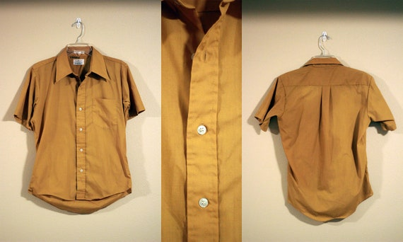 Mustard Yellow Button Up