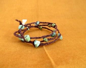 SALE! Braided Rock Bracelet
