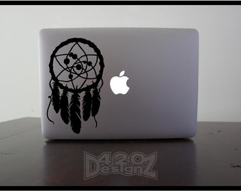 Dream Catcher   - Macbook Air, Macbook Pro,  Macbook decals, sticker ,Vinyl Mac decals ,Apple Mac Decal, Laptop, ipad