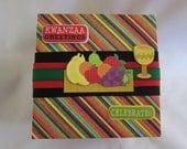 Kwanzaa gift box - Handmade - paper gift box - Kwanzaa - Gifts