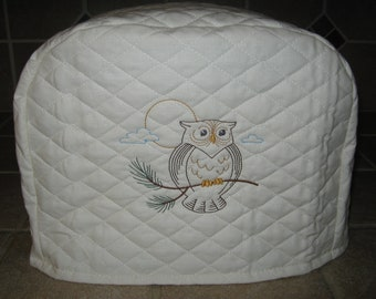 Toaster Cover 2 or 4 Slice, CUTE OWL DESIGN