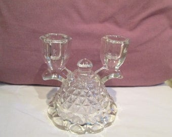 Crystal double candlestick in the American pattern