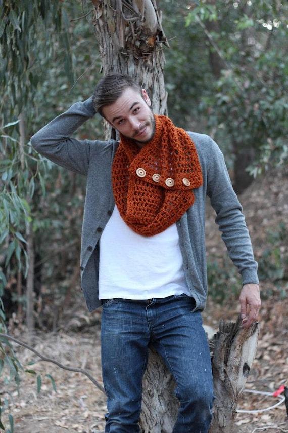 crocheted chunky cowl