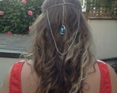 The Bastian, Head Piece, Head Jewellery, Hair Jewellery, Hair Piece, Hair Accessories, Hair Chain, Head Chain, Jewellery