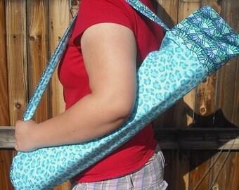 Yoga bag pattern, yoga mat bag pattern, pilates mat bag pattern, gym bag pattern, aerobic bag pattern, yoga pilates tote bag pattern