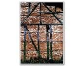 Missing House, 5x7'  Abstract Photography,  Fine Art, Modern Room, Nursery Art, Home decor