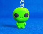 Chibi Alien Necklace