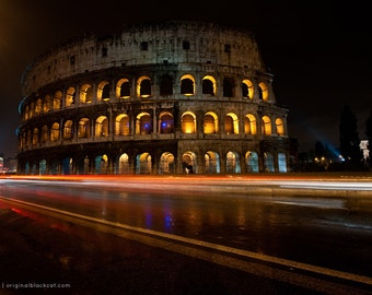 8 x 12 Print of Colosseum, Rome, Italy