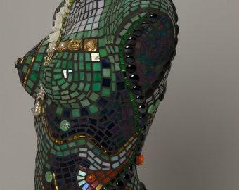 Mosaic torso Evita