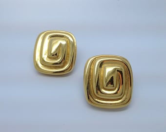 Vintage Givenchy Gold Tone Earrings