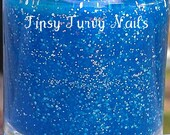 Blue Balls - Holiday 2012 - Custom Made Nail Polish